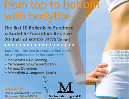 Summer Special – Tighten and Tone From Top to Bottom with BodyTite