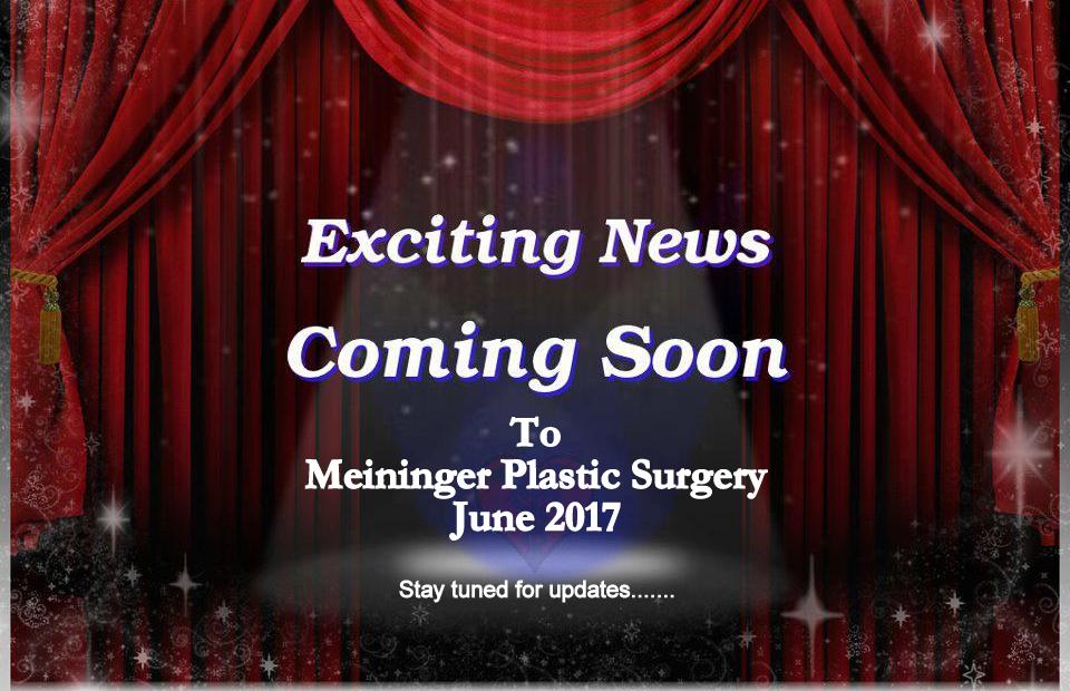 Exciting Announcement Meininger Plastic Surgery Oakland County